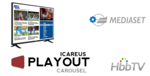 Mediaset rolls out their HbbTV services with Icareus