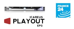 Icareus EPG Solution to France24