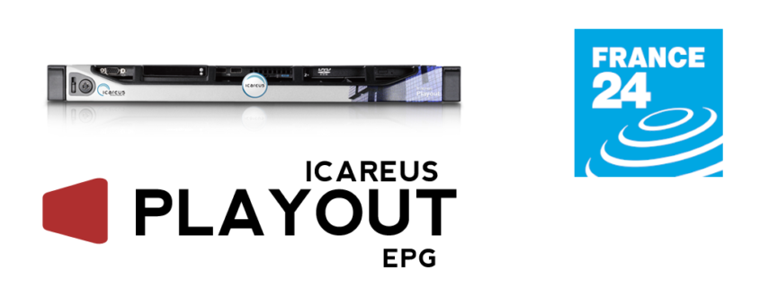 Icareus EPG Solution to France24