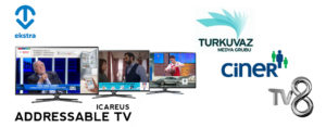 TVEkstra and ICAREUS to offer Addressable TV advertising on Turkuvaz Media, Ciner Media Group and TV8 channels in Turkey