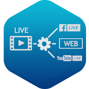 live streamaus Simulcast Facebook YouTube