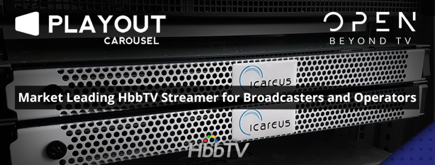 Icareus HbbTV Carousel Streamer to Open Beyond