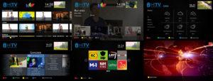 HiTV HbbTV Application Screenshots