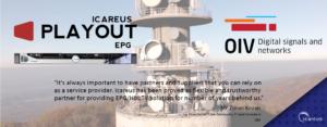 Icareus EPG to OIV