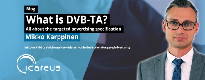 Blog what is DVB-TA